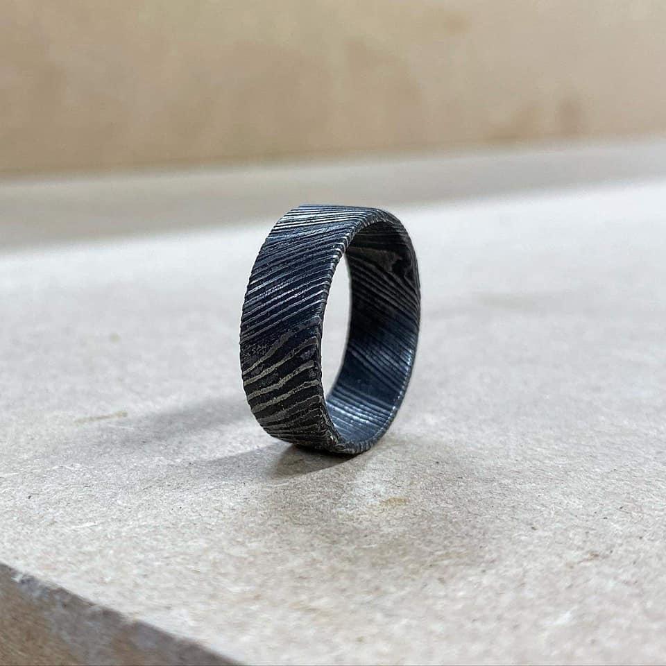 Mild Damascus Ring
