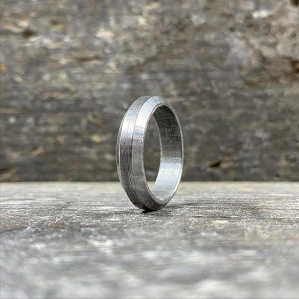 Stainless steel Damascus Ring