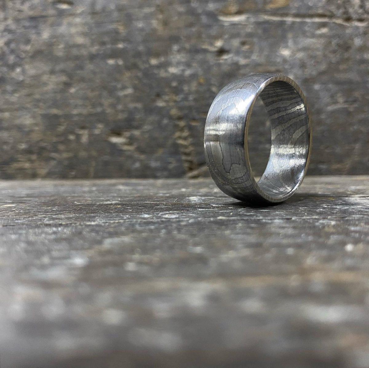 Damascus Steel Ring