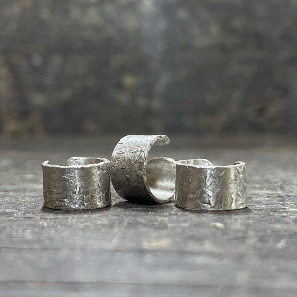 Silver Ear Cuffs