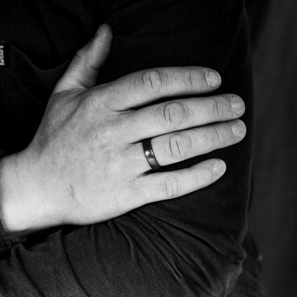 Stainless Steel Damascus Ring & Men's Wedding Rings